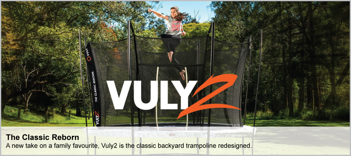 Shop Vuly 2 Trampolines