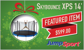 Featured Trampoline - JumpSport Skybounce XPS 14' Trampoline